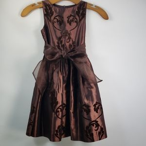 US ANGELS SLEEVELESS TAFFETA DRESS SIZE 5